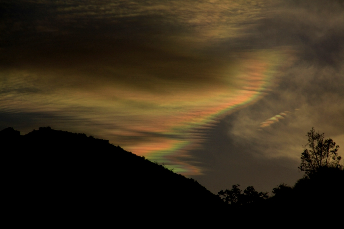 Iridescent Clouds Revisited