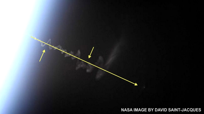 Q&A: Rocket Exhaust Trails at High Altitude