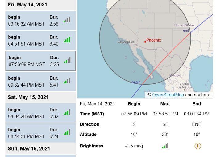 ISS Over Phoenix v.2